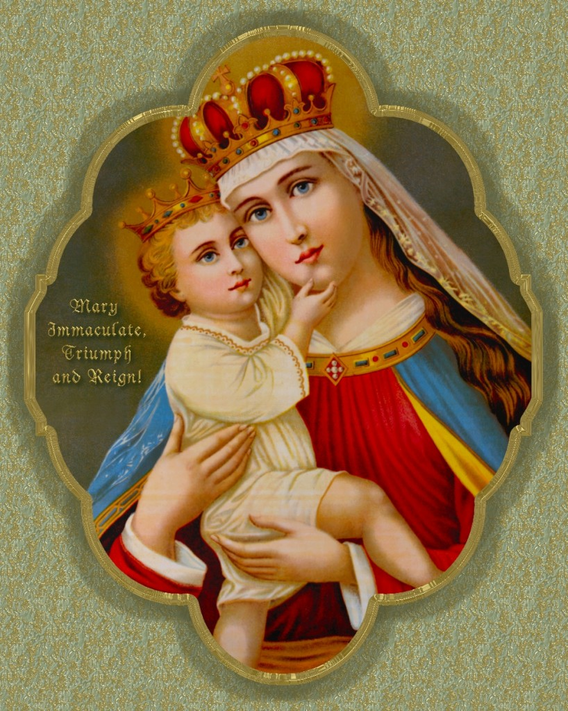 QUEENSHIP OF MARY IMAGE