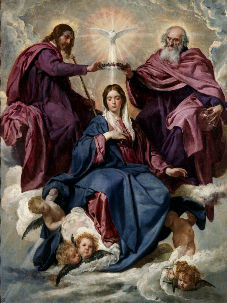 Total consecration to Jesus through Mary picture